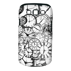 Time Clock Watches Time Of Samsung Galaxy S Iii Classic Hardshell Case (pc+silicone)