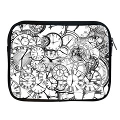Time Clock Watches Time Of Apple Ipad 2/3/4 Zipper Cases