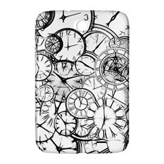 Time Clock Watches Time Of Samsung Galaxy Note 8 0 N5100 Hardshell Case
