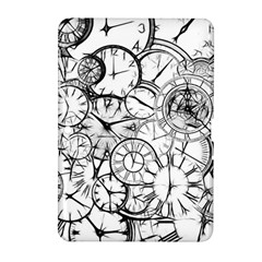 Time Clock Watches Time Of Samsung Galaxy Tab 2 (10 1 ) P5100 Hardshell Case