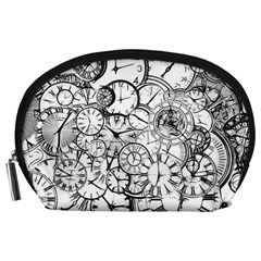 Time Clock Watches Time Of Accessory Pouches (large)
