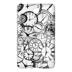 Time Clock Watches Time Of Samsung Galaxy Tab 4 (8 ) Hardshell Case