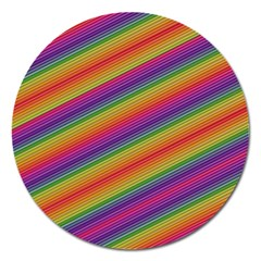 Spectrum Psychedelic Green Magnet 5  (round)