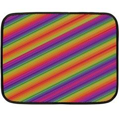 Spectrum Psychedelic Green Fleece Blanket (mini)