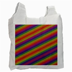 Spectrum Psychedelic Green Recycle Bag (two Side)