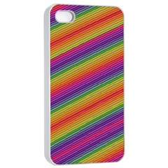 Spectrum Psychedelic Green Apple Iphone 4/4s Seamless Case (white)
