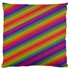 Spectrum Psychedelic Green Large Cushion Case (one Side)