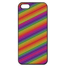 Spectrum Psychedelic Green Apple Iphone 5 Seamless Case (black)