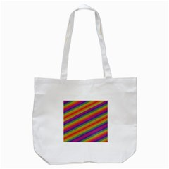 Spectrum Psychedelic Green Tote Bag (white)