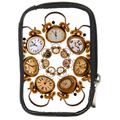 Time Clock Alarm Clock Time Of Compact Camera Cases