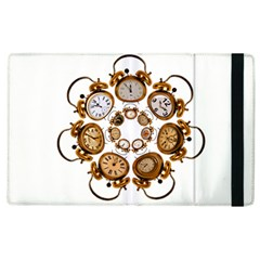 Time Clock Alarm Clock Time Of Apple Ipad 3/4 Flip Case