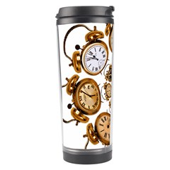 Time Clock Alarm Clock Time Of Travel Tumbler