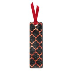 Tile1 Black Marble & Copper Paint (r) Small Book Marks