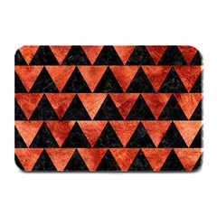 Triangle2 Black Marble & Copper Paint Plate Mats