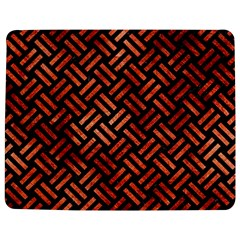 Woven2 Black Marble & Copper Paint (r) Jigsaw Puzzle Photo Stand (rectangular)