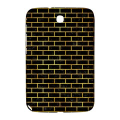 Brick1 Black Marble & Gold Paint (r) Samsung Galaxy Note 8 0 N5100 Hardshell Case