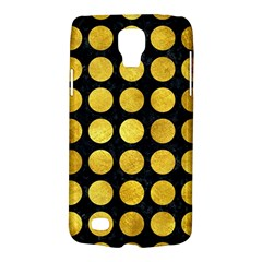 Circles1 Black Marble & Gold Paint (r) Galaxy S4 Active