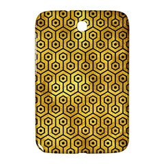 Hexagon1 Black Marble & Gold Paint Samsung Galaxy Note 8 0 N5100 Hardshell Case