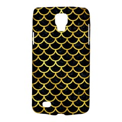 Scales1 Black Marble & Gold Paint (r) Galaxy S4 Active
