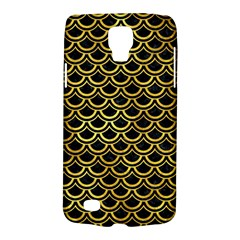 Scales2 Black Marble & Gold Paint (r) Galaxy S4 Active