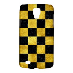 Square1 Black Marble & Gold Paint Galaxy S4 Active
