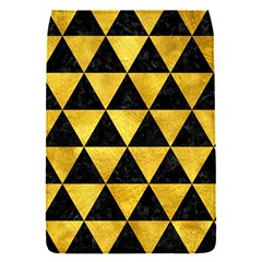 Triangle3 Black Marble & Gold Paint Flap Covers (s)
