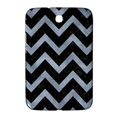 Chevron9 Black Marble & Silver Paint (r) Samsung Galaxy Note 8 0 N5100 Hardshell Case