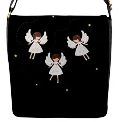 Christmas Angels  Flap Messenger Bag (s)
