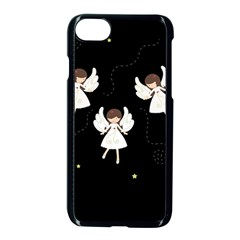 Christmas Angels  Apple Iphone 8 Seamless Case (black)