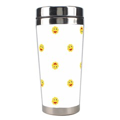 Happy Sun Motif Kids Seamless Pattern Stainless Steel Travel Tumblers