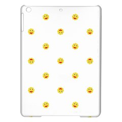 Happy Sun Motif Kids Seamless Pattern Ipad Air Hardshell Cases