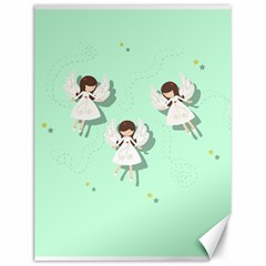 Christmas Angels  Canvas 18  X 24