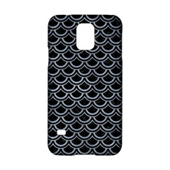 Scales2 Black Marble & Silver Paint (r) Samsung Galaxy S5 Hardshell Case