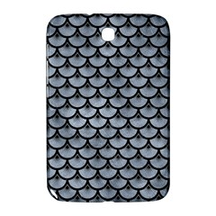 Scales3 Black Marble & Silver Paint Samsung Galaxy Note 8 0 N5100 Hardshell Case