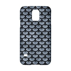 Scales3 Black Marble & Silver Paint Samsung Galaxy S5 Hardshell Case