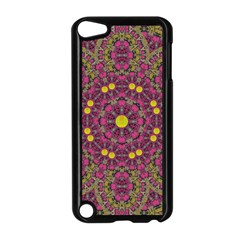 Butterflies  Roses In Gold Spreading Calm And Love Apple Ipod Touch 5 Case (black)