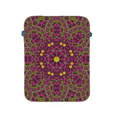 Butterflies  Roses In Gold Spreading Calm And Love Apple Ipad 2/3/4 Protective Soft Cases