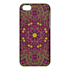 Butterflies  Roses In Gold Spreading Calm And Love Apple Iphone 5c Hardshell Case