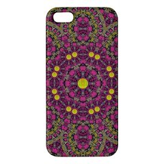Butterflies  Roses In Gold Spreading Calm And Love Iphone 5s/ Se Premium Hardshell Case
