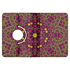 Butterflies  Roses In Gold Spreading Calm And Love Kindle Fire Hdx Flip 360 Case