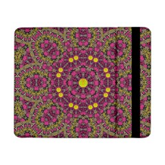 Butterflies  Roses In Gold Spreading Calm And Love Samsung Galaxy Tab Pro 8 4  Flip Case