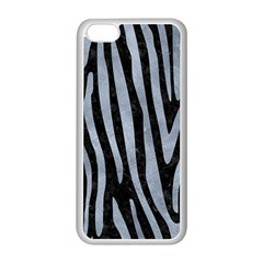 Skin4 Black Marble & Silver Paint Apple Iphone 5c Seamless Case (white)