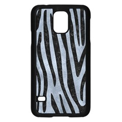Skin4 Black Marble & Silver Paint (r) Samsung Galaxy S5 Case (black)