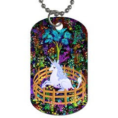 The Last Unicorn In Captivity Dog Tag (two Sided)