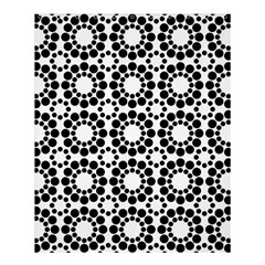 Black White Pattern Seamless Monochrome Shower Curtain 60  X 72  (medium)