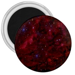 Abstract Fantasy Color Colorful 3  Magnets