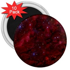 Abstract Fantasy Color Colorful 3  Magnets (10 Pack)
