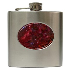 Abstract Fantasy Color Colorful Hip Flask (6 Oz)