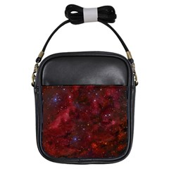 Abstract Fantasy Color Colorful Girls Sling Bags