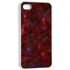 Abstract Fantasy Color Colorful Apple Iphone 4/4s Seamless Case (white)